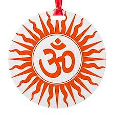 Spiritual Om Design Ornament
