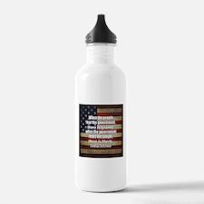 Jefferson Quote Liberty Water Bottle