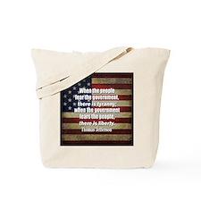 Jefferson Quote Liberty Tote Bag