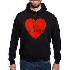 HeartBeatsRed Hoodie