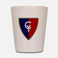 38th Infantry Division Shot Glass