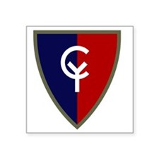 """38th Infantry Division Square Sticker 3"""" x 3"""""""