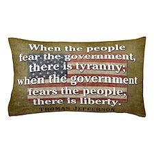 Jefferson Quote Liberty Pillow Case