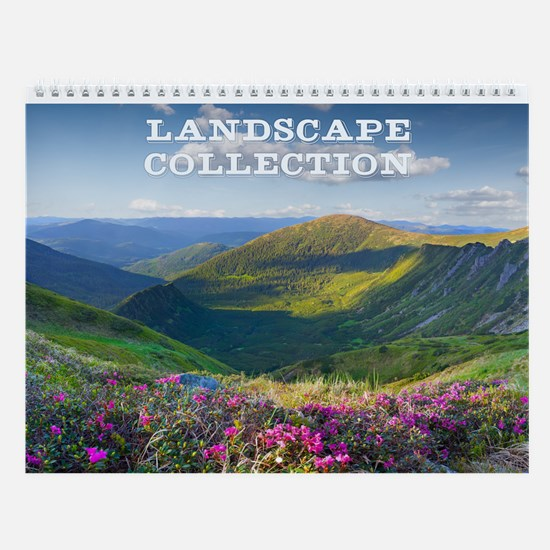 Landscape Collection Wall Calendar