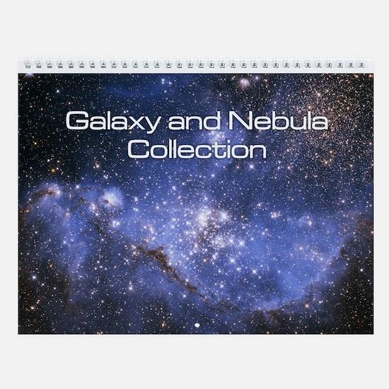 Galaxy and Nebula Collection Wall Calendar