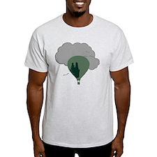 Balloon rough T-Shirt
