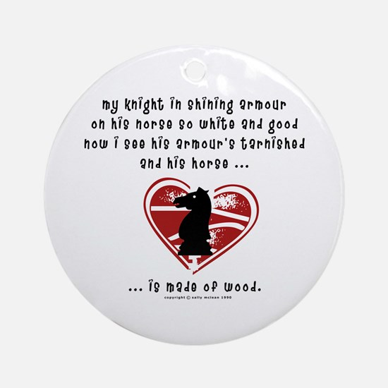 Knight in Shining Armour Ornament (Round)