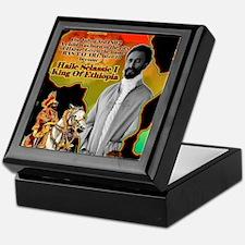 selassie africa Keepsake Box