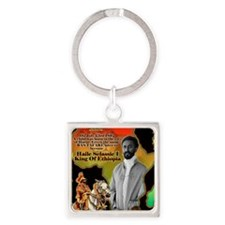 selassie africa Square Keychain