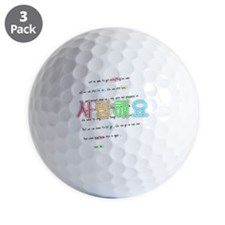 Saranghae Golf Ball