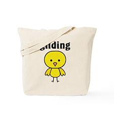 Gliding Chick Tote Bag