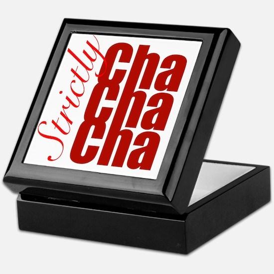 cha cha cha Keepsake Box