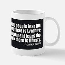 Jefferson Quote Liberty Mug