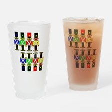 8 Nut Crackers Drinking Glass