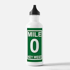 5-milezerorectanglesti Water Bottle