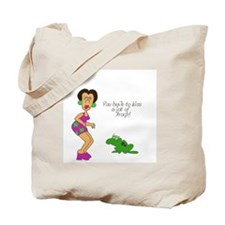 2-SR kiss frogs Tote Bag