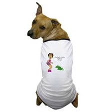 2-SR kiss frogs Dog T-Shirt