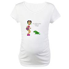 2-SR kiss frogs Maternity T-Shirt