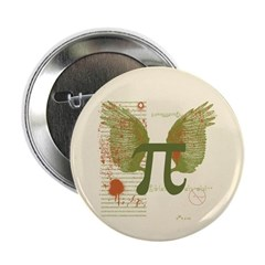 Winged Pi Button