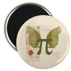 Winged Pi Magnet