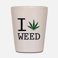 weed Shot Glass