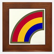42nd Infantry Division Framed Tile