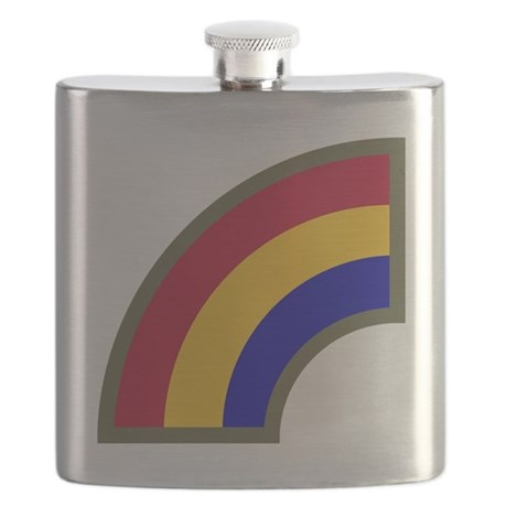 42nd Infantry Division Flask