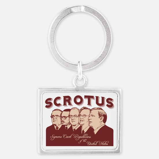 scrotus-LTT Landscape Keychain