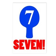 seven! Postcards (Package of 8)