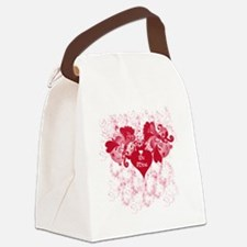 Be Mine Canvas Lunch Bag