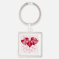 Be Mine Square Keychain