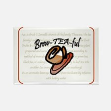 brewteaful definition Rectangle Magnet