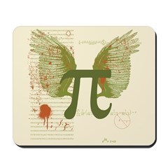 Winged Pi Mousepad
