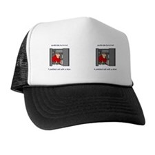 8.31x3 Mug Padded Cell Female Trucker Hat