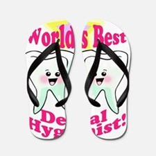 Worlds Best Dental Hygienist 2 Flip Flops
