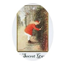 Secret-Garden Oval Ornament