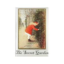 Secret-Garden Rectangle Magnet