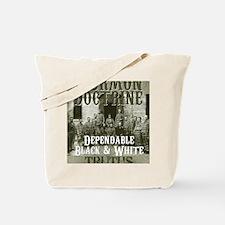 BkWt Tote Bag