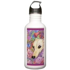 Shy flower Water Bottle