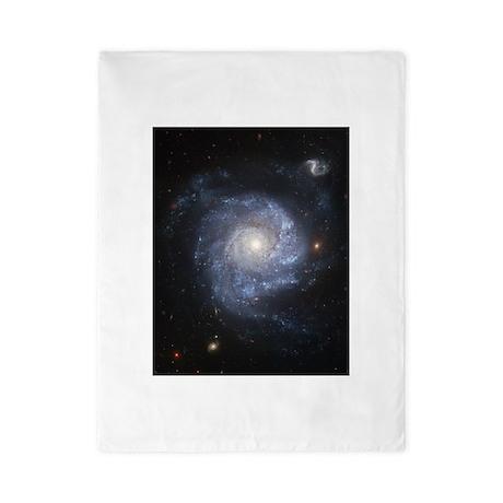 Spiral Galaxy Ngc 1309 Twin Duvet Cover By Fantasyartdesigns
