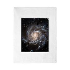 Spiral Galaxy (M101) Twin Duvet Cover