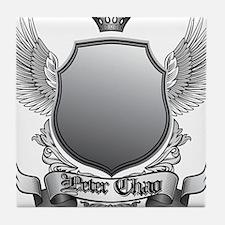 tshirt 2 - front logo Tile Coaster