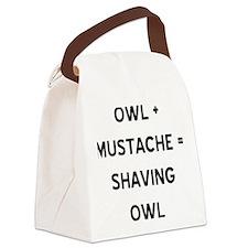 owl.gif Canvas Lunch Bag