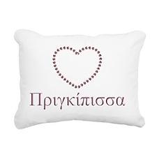 pringipissa Rectangular Canvas Pillow