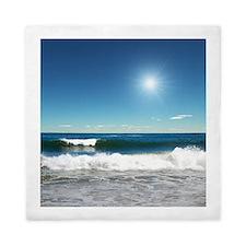 Ocean Waves Queen Duvet Cover