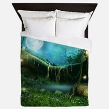 Enchanted Forest Queen Duvet Cover