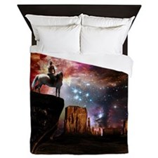 Native American Universe Queen Duvet Cover