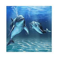 Dolphin Dream Queen Duvet Cover