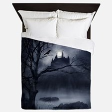 Gothic Night Fantasy Queen Duvet Cover