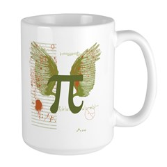 Winged Pi Large Mug